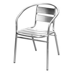 Кресло алюминиевое для летнего кафе AF-3059