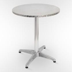 Стол для кафе алюминиевый AF-3127 круглый