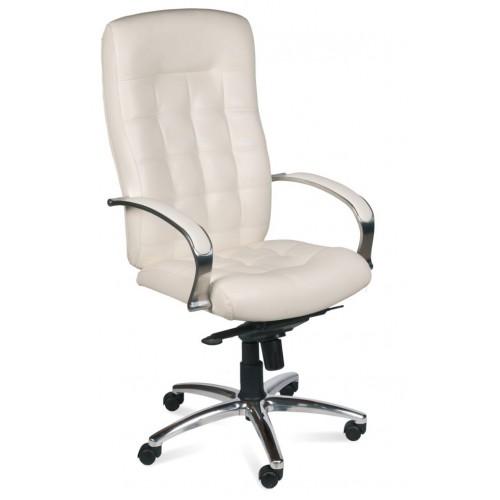 Кресло руководителя  LP-St-U с высокой стеганой спинкой