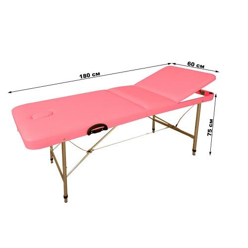 Массажный стол складной регулируемый КФ-180/75 люкс