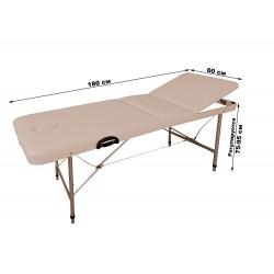 Массажный стол складной трехсекционный КФ-180/75Р люкс