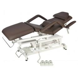 Медицинская кровать массажная с электроприводом ММ-КО-71