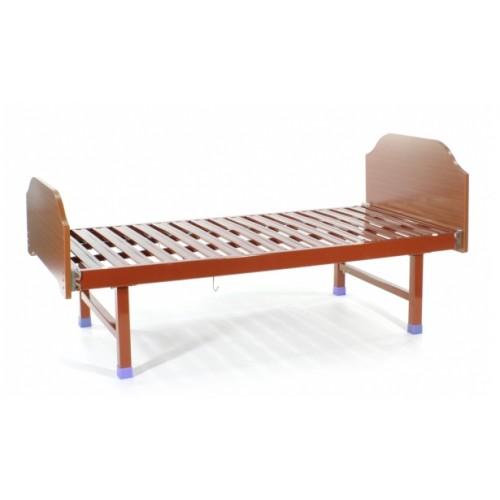 Кровать медицинская односекционная ММ-Е18 со спинками ЛДСП