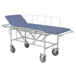Тележка больничная двухсекционная ПР-ТБЛ с боковыми ограждениями