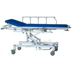 Тележка-каталка для пациентов А-ТПБВ-02 с гидроприводом