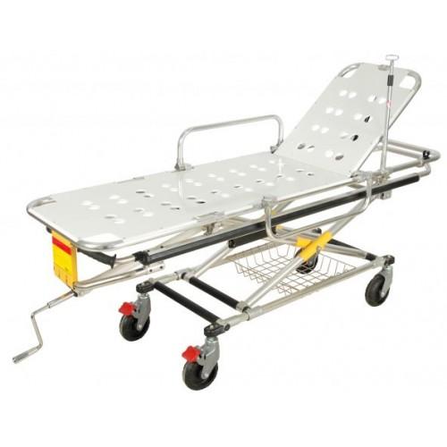 Тележка для перевозки больных YQC-2L СП-6.2 регулируемая по высоте