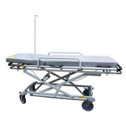 Тележка-каталка больничная ТБ-0261 двухсекционная многоуровневая