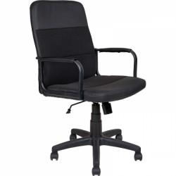 Кресло оператора комбинированное AV209 c металлическими подлокотниками