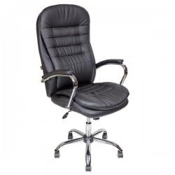 Кресло руководителя кожаное AV-118