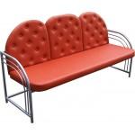 Офисный диван трехместный М117-01