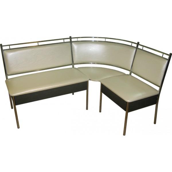 Кухонный уголок с ящиками для хранения