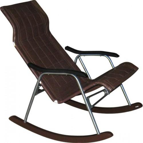 Кресло-качалка M44.4 на складном металлическом каркасе