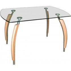 Стол стеклянный для кухни M141-09