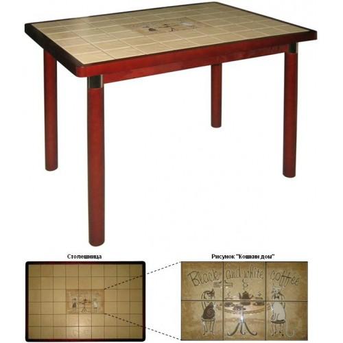 Стол кухонный с плиткой М142.59
