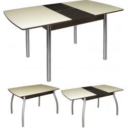 Стол  стеклянный раздвижной М142.66