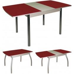 Стол обеденный стеклянный раздвижной М142.69