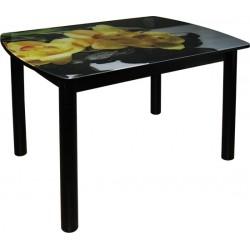 Стол стеклянный обеденный М142.76