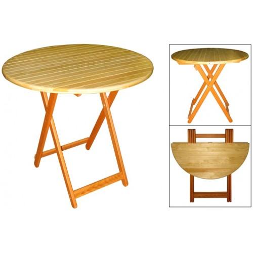 Стол складной М142.81 деревянный