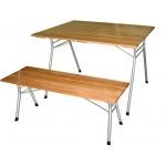 Стол складной с рейками М144-02