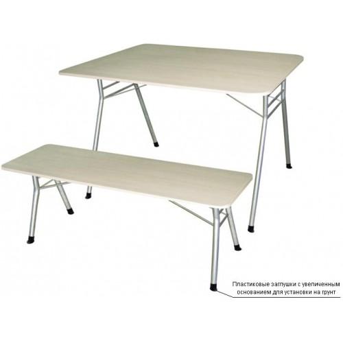 Стол складной с меламиновой столешницей М 144-02