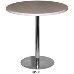 Стол для кафе М 145-06, диаметр основания  500 мм