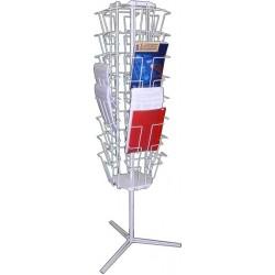 Стойка-корзина для газет М 303-Т2 с дисплеями