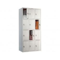 Металлический локер (locker) для хранения сумок ПК-34