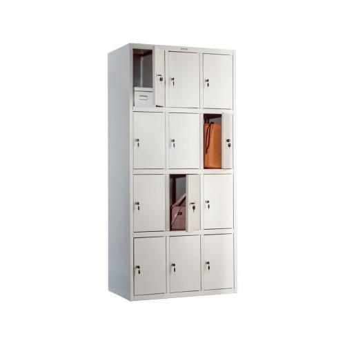 Металлический шкаф (locker) для хранения сумок ПК-34