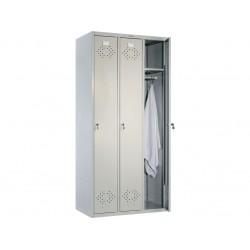 Металлический шкаф трехдверный ПК-31