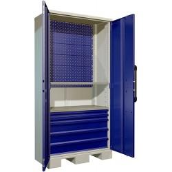 Промышленный шкаф для хранения тяжелых инструментов ПК-2030