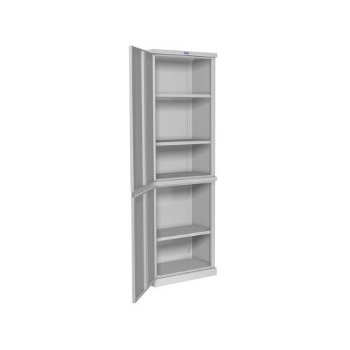 Шкаф для балкона одностворчатый ПР-ШБ-1806 стальной двудверный