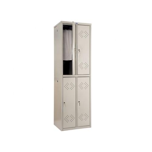 Шкаф четырехсекционный для раздевалок ПК-22-50