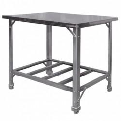 Стол производственный с нижней решеткой ЭКОНОМ
