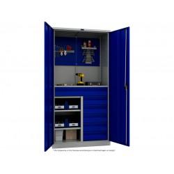 Шкаф металлический универсальный для производства ПК-1215