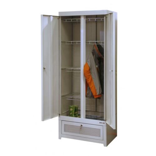 Металлический шкаф для сушки одежды ШС-22