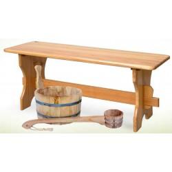Мебель для бани и сауны из липы