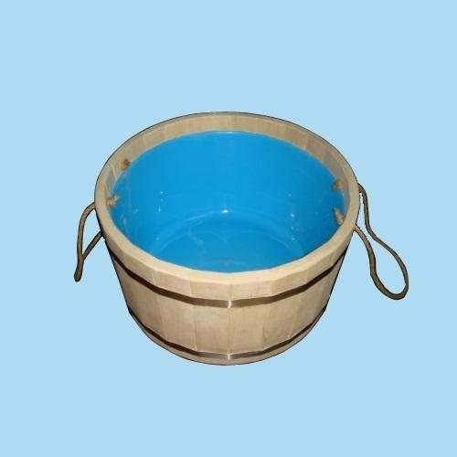Шайка для бани с вкладышем