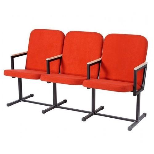 Кресло секционное для актовых и конференц залов YH-21-03 с подлокотниками