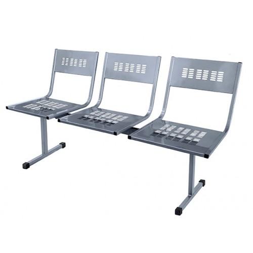 Многоместный стул антивандальный YH-22-03 без подлокотников