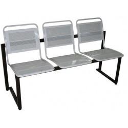Секция стульев с перфорацией со съемными сидениями