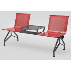 Секция стульев YH 89/2 антивандальная со столиком