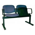 Секция ИЗО  Тройка с откидными сидениями и подлокотниками