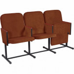 Многоместная секция  мягких стульев YH-5/1 для концертного зала