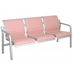 Многоместные мягкие кресла YH-T5 с подлокотниками для зрительного зала