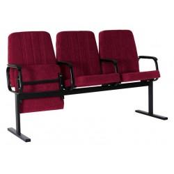 Секция кресел YH-6М для зрителей  с откидными сидениями