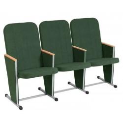 Секция стульев YH-7M с высокой спинкой для конференц зала
