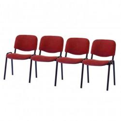 Секция стульев ИЗО четырехместная для посетителей