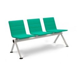 Секционные кресла YH11/2 мягкие без подлокотников для медицинских центров