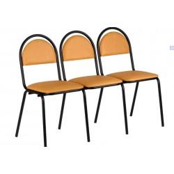 Блок из трех стульев  Стандарт для школьных учреждений