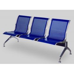 Секция перфорированных стульев YH-02 без подлокотников
